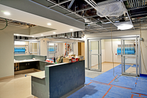 Crouse's new emergency department will feature 29 private rooms along with one semi-private room.