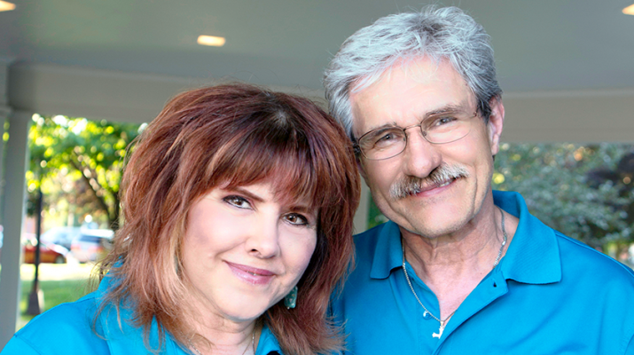 Frieda and Gary Weeks, of Liverpool, founded Hope for Heather to raise awareness and funds for ovarian cancer research. Their late daughter, Heather, worked for the Ovarian Cancer Research Fund. Photo courtesy of Rick Policastro.