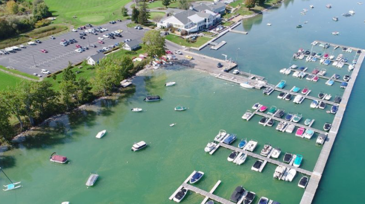 Algal blooms in Skaneateles Lake this summer. According to NYS Department of Environment, this can become the new normal. Courtesy of the Onondaga County Health Department.