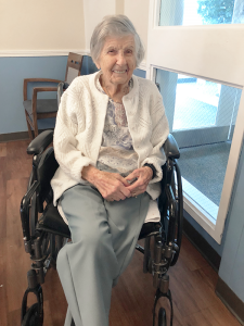 """Kay West, age 105: """"I like to have a vodka tonic at least a couple nights a week. Doctors' orders,"""" she says."""