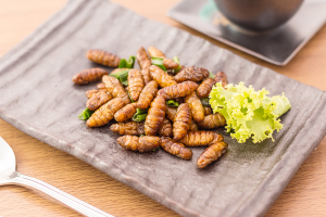 Eat it fried, baked or with some seasoning: Insects are good source of vitamins.