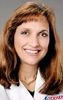 Physician Kara C. Kort, medical director of breast care and surgery at St. Joseph's Physicians and Surgical Services.