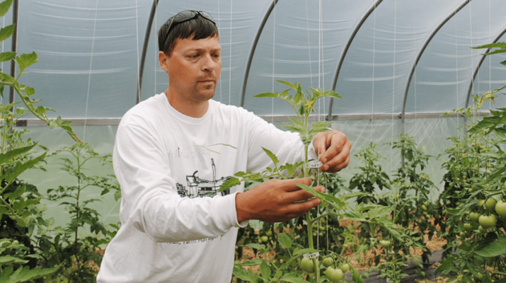 """Rick Rarick is the manager of the nonprofit Matthew 25 Farm. """"Here we are in year 11 and going strong, and we're looking forward to and making plans for year 12 already,"""" he says."""
