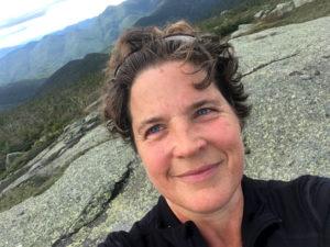 Wendy Jensen, a breast cancer survivor,  recently went climbing in the Adirondacks.
