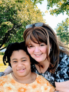 Julie Gridley Crosby, a single parent who is the primary caregiver for her 11-year-old daughter, Addison Gridley. Addison has cerebral palsy, arthrogryposis multiplex congenita, which consists of joint contractures that affect her from the hips down; brain anomalies and epilepsy.
