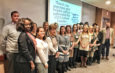 Health professionals at Crouse Hospital recently graduated from the hospital's Future Leaders program, now in its second year. The program helps prepare professionals to take leadership roles within the organization.