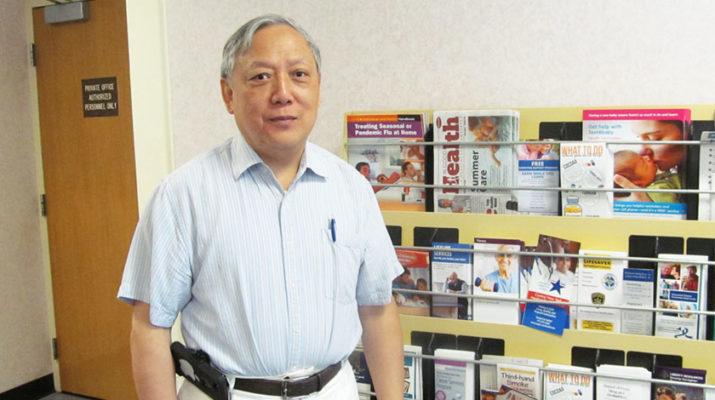 Oswego County Public Health Director Jiancheng Huang