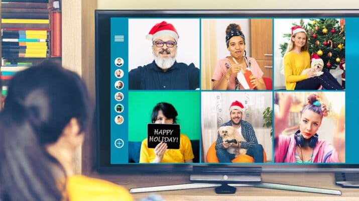 Many families with out-of-town relatives have been doing this for years, but opening gifts together via Zoom is a great way to bring the family together safely.