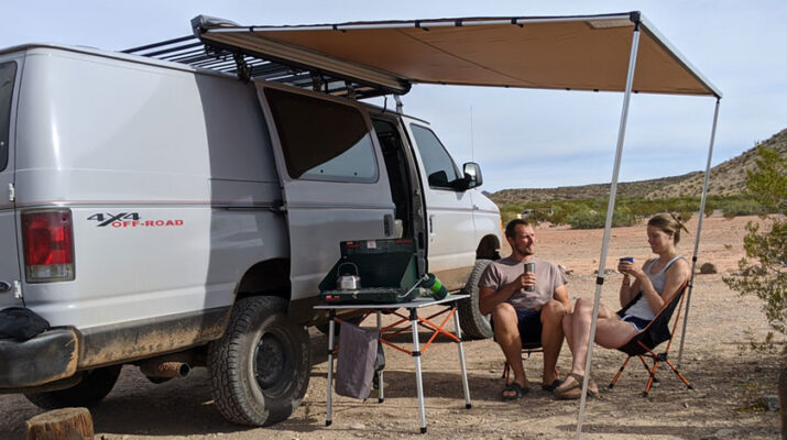 Justin and Savaria Crego of Liverpool quit their jobs, bought a used van, fixed it up and spent at least a year traveling the country. They visited 15 states and three Canadian provinces — and hiked at almost every destination.