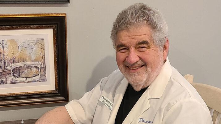 Pharmacist Frank Wretzel.